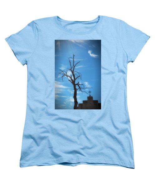 Women's T-Shirt (Standard Cut) featuring the photograph Dia De Los Muertos by Lynn Geoffroy