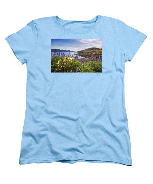 Diamond Valley Women's T-Shirt (Standard Cut) by Tassanee Angiolillo