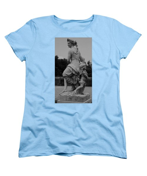 Women's T-Shirt (Standard Cut) featuring the painting Diana by Eric  Schiabor