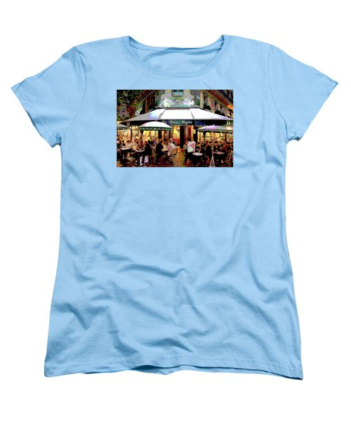 Dining Out Women's T-Shirt (Standard Cut) by Charles Shoup