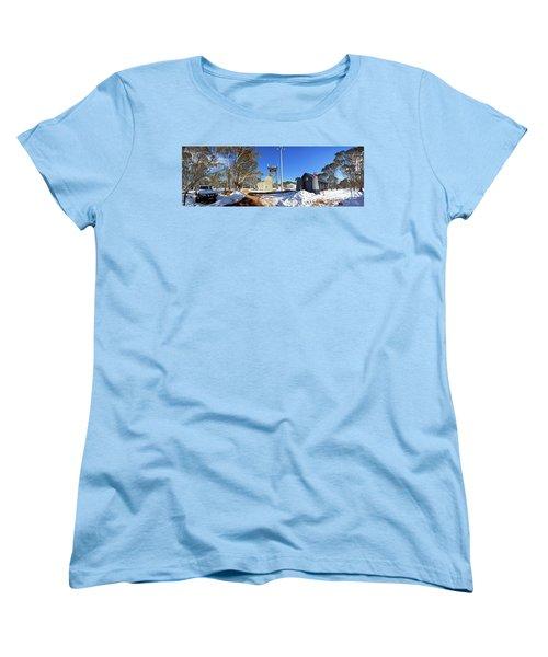 Women's T-Shirt (Standard Cut) featuring the photograph Dinner Plain Cfa by Bill Robinson