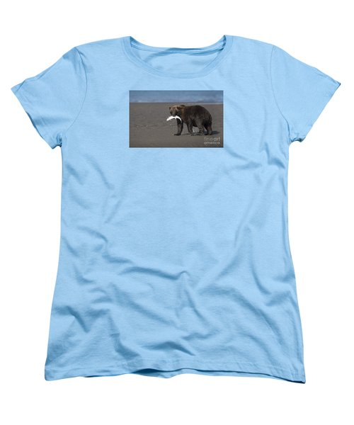 Women's T-Shirt (Standard Cut) featuring the photograph Dinner Time by Sandra Bronstein