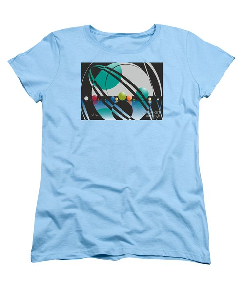 Discovered Thoughs Women's T-Shirt (Standard Cut) by Leo Symon