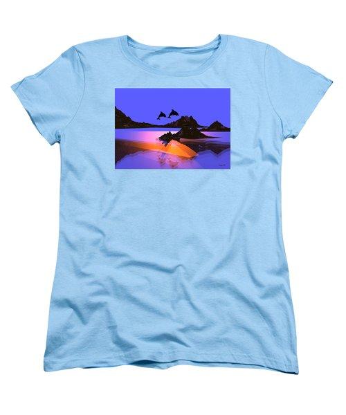 Discovery Women's T-Shirt (Standard Cut) by Robert Orinski