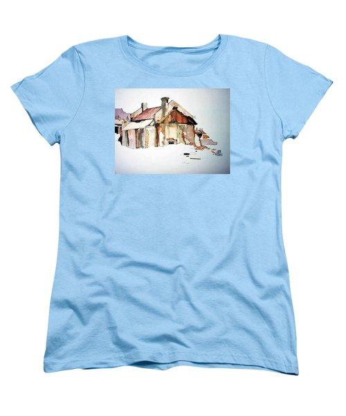District 6 No 2 Women's T-Shirt (Standard Cut) by Tim Johnson