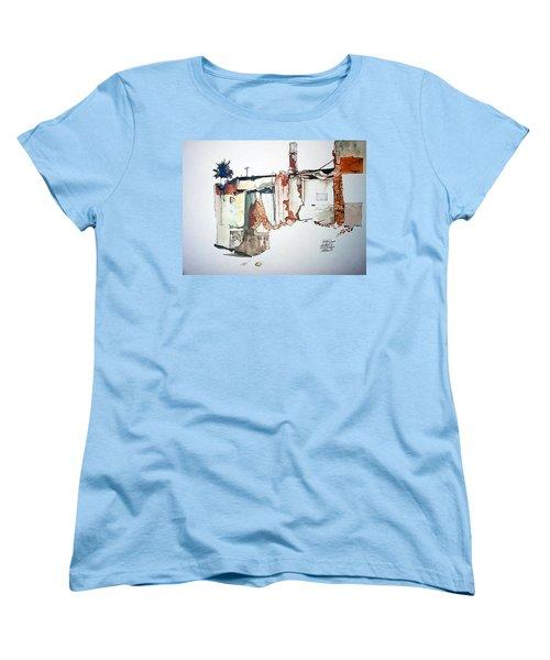 District 6 No 3 Women's T-Shirt (Standard Cut) by Tim Johnson