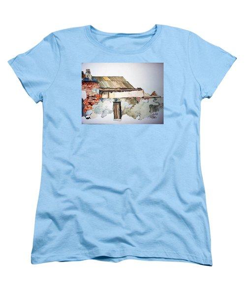 District 6 No 4 Women's T-Shirt (Standard Cut) by Tim Johnson