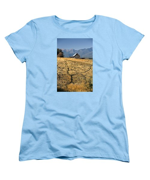 Divergence Women's T-Shirt (Standard Cut) by Lawrence Boothby