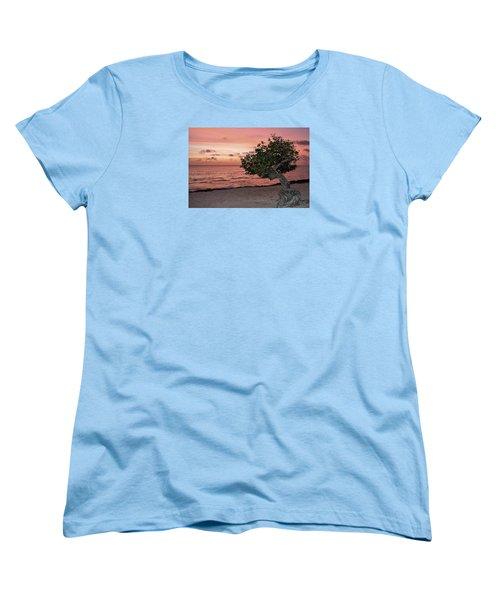 Divi Divi Aruba Women's T-Shirt (Standard Cut) by DJ Florek