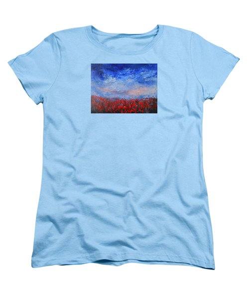 Divine Red Women's T-Shirt (Standard Cut) by Jane See