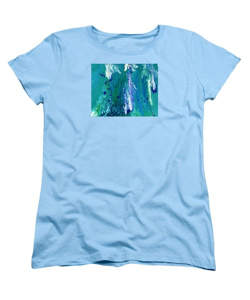 Diving To The Depths Women's T-Shirt (Standard Cut) by Lori Kingston