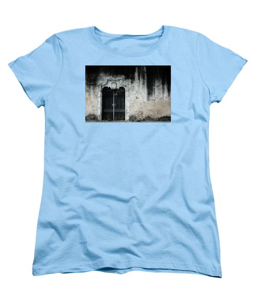 Women's T-Shirt (Standard Cut) featuring the photograph Do Not Enter by Marco Oliveira