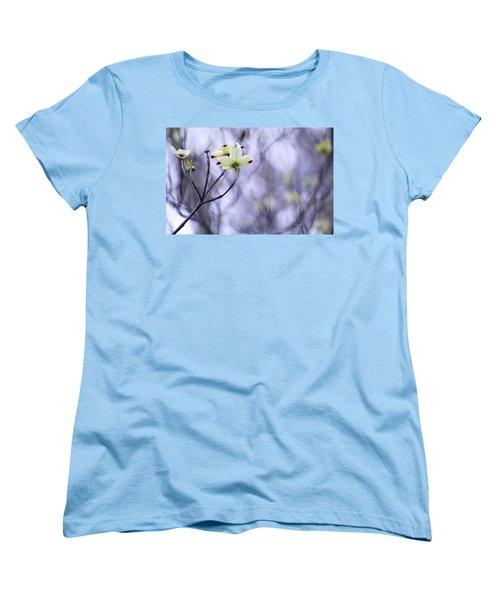 Dogwood Women's T-Shirt (Standard Cut) by Tammy Schneider