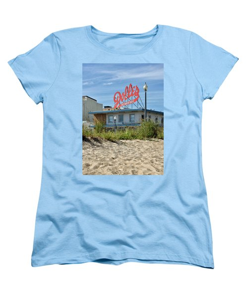 Dolles From The Beach - Rehoboth Beach Delaware Women's T-Shirt (Standard Cut) by Brendan Reals