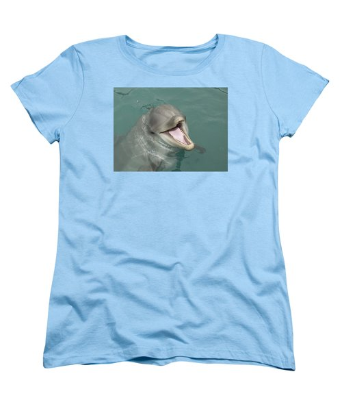 Dolphin Women's T-Shirt (Standard Cut) by Sean M