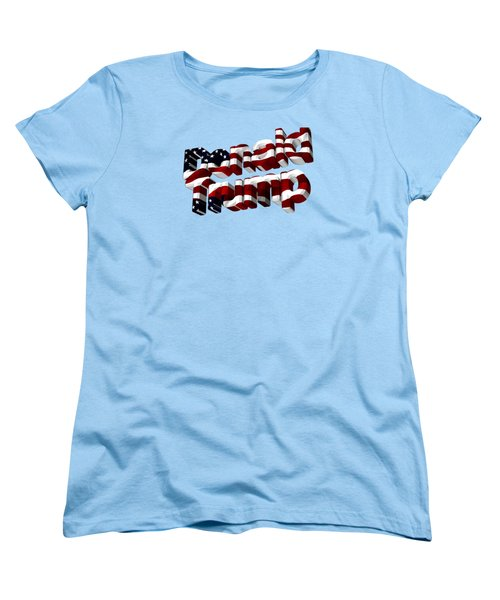 Donald Trump Women's T-Shirt (Standard Cut) by Ericamaxine Price
