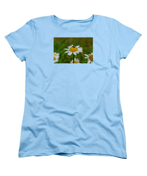 Women's T-Shirt (Standard Cut) featuring the photograph Don't Bug Me by Lew Davis