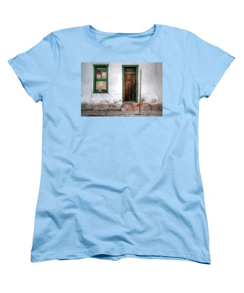 Door 345 Women's T-Shirt (Standard Cut) by Lynn Geoffroy