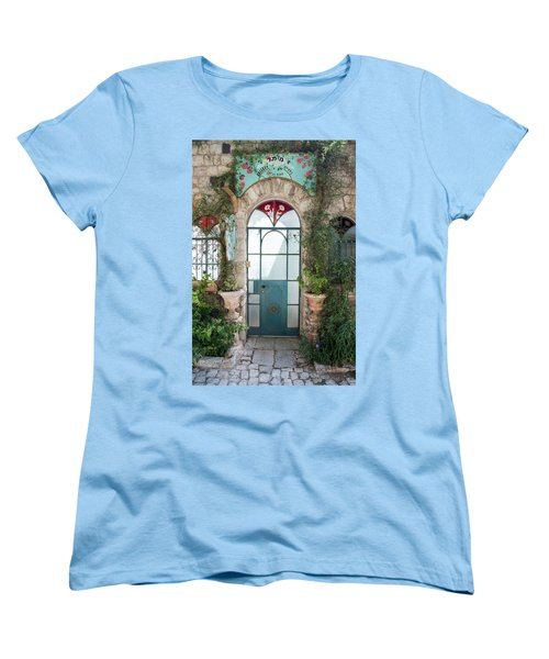 Door Entrance To The Art Women's T-Shirt (Standard Cut) by Yoel Koskas