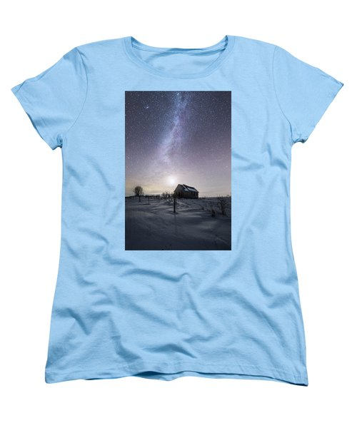Women's T-Shirt (Standard Cut) featuring the photograph Dormant by Aaron J Groen