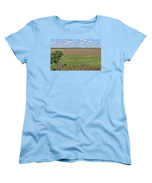 Down In The Valley Women's T-Shirt (Standard Cut) by Sylvia Thornton