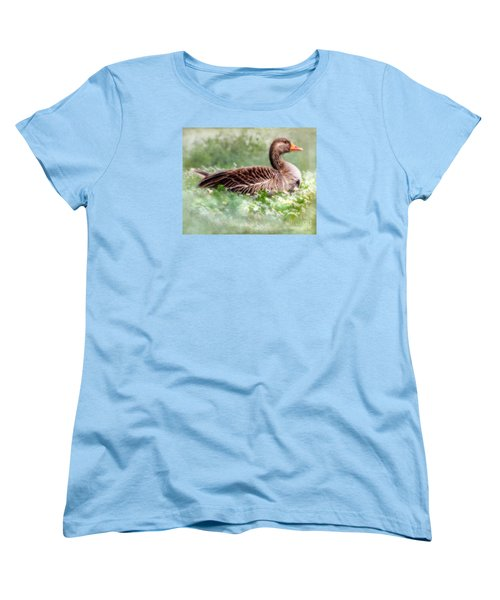 Women's T-Shirt (Standard Cut) featuring the photograph Down With The Daisies  by Linsey Williams