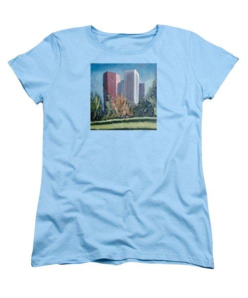 Downtown Los Angeles Women's T-Shirt (Standard Cut) by Richard Willson