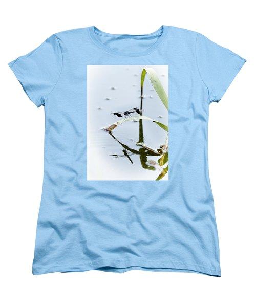 Dragon Fly Women's T-Shirt (Standard Cut) by Patrick Kain