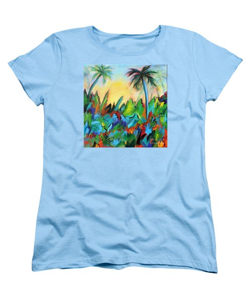 Drawn By The Color Women's T-Shirt (Standard Cut) by Elizabeth Fontaine-Barr