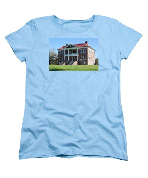 Drayton Hall Women's T-Shirt (Standard Cut) by Gordon Mooneyhan