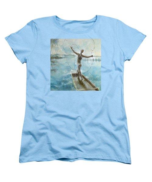 Dream Catcher Women's T-Shirt (Standard Cut) by Gertrude Palmer