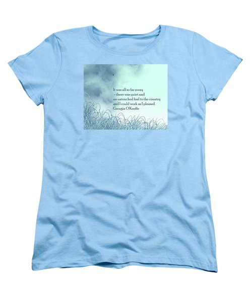 Dream Home Women's T-Shirt (Standard Cut) by Trilby Cole