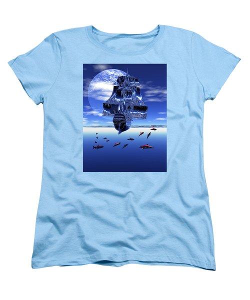 Dream Sea Voyager Women's T-Shirt (Standard Cut)