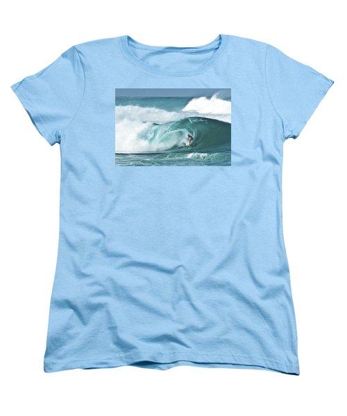 Dream Surf Women's T-Shirt (Standard Cut) by Steven Sparks