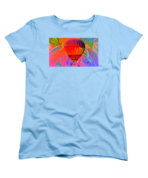 Women's T-Shirt (Standard Cut) featuring the photograph Dreaming Across The Sky by Jeff Swan