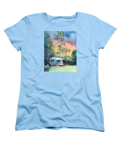 Dreams Of Kauai Women's T-Shirt (Standard Cut) by Marionette Taboniar