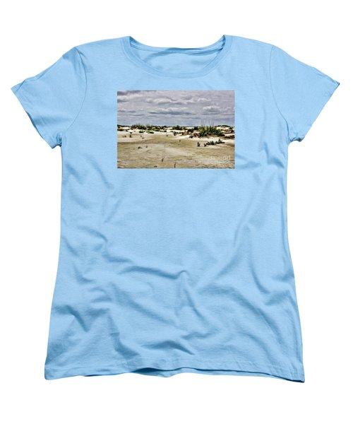 Dreamy Dunes Women's T-Shirt (Standard Cut) by Roberta Byram