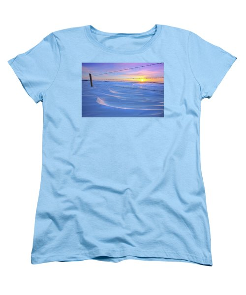 Drifting Away Women's T-Shirt (Standard Cut) by Dan Jurak