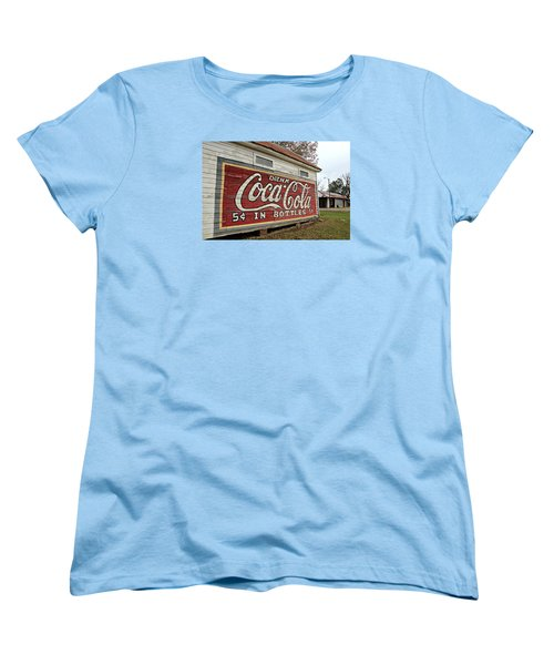 Drink Coca-cola Women's T-Shirt (Standard Cut) by Lynn Jordan
