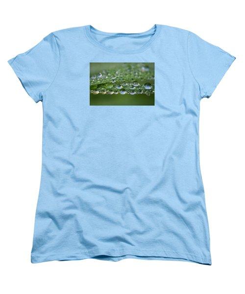 Droplets Women's T-Shirt (Standard Cut) by Adria Trail