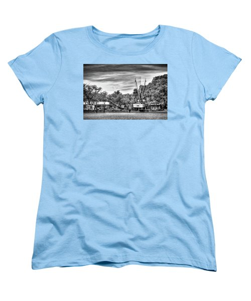Dry Dock - St. Helena Shrimp Boat Women's T-Shirt (Standard Cut)