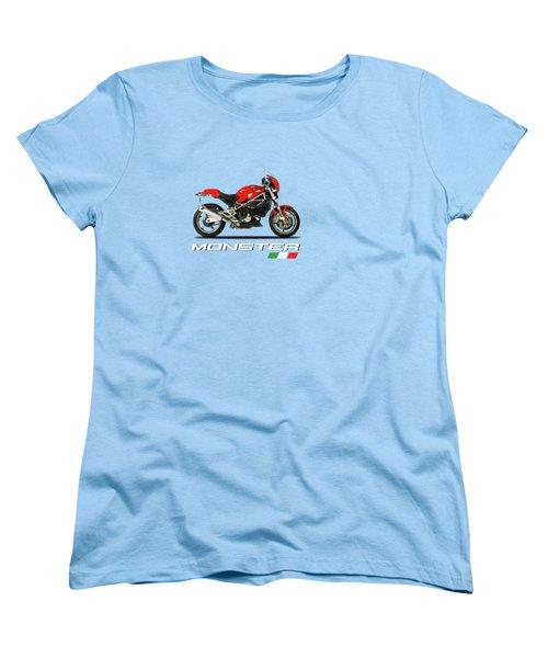 Ducati Monster S4 Sps Women's T-Shirt (Standard Cut) by Mark Rogan