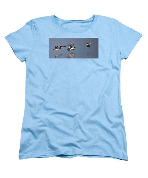 Duckin Out Women's T-Shirt (Standard Cut) by Randy Hall