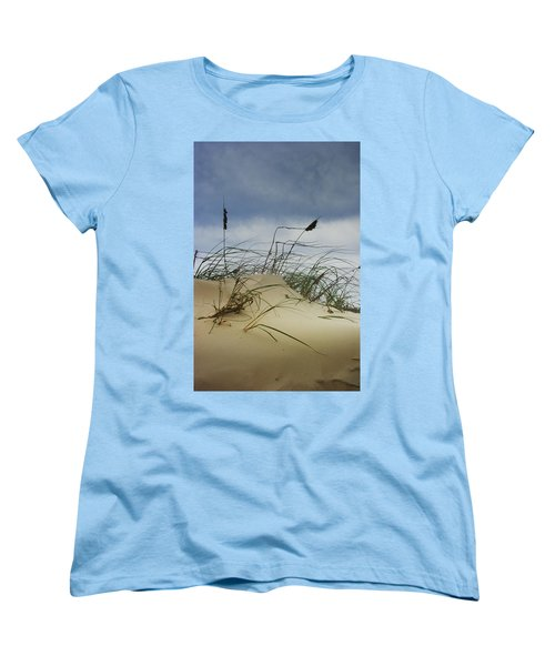 Dune And Beach Grass Women's T-Shirt (Standard Cut)
