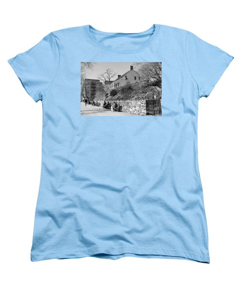 Women's T-Shirt (Standard Cut) featuring the photograph Dyckman Farmhouse  by Cole Thompson