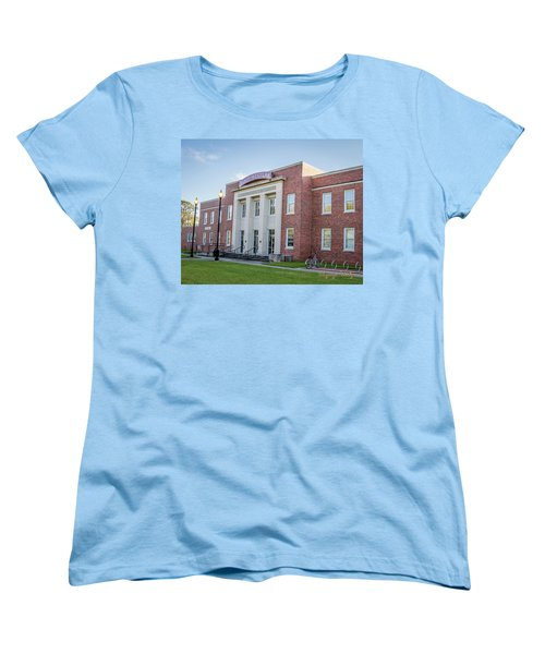 Women's T-Shirt (Standard Cut) featuring the photograph E K Long Building by Gregory Daley  PPSA