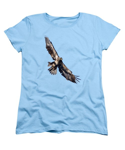 Eagle Women's T-Shirt (Standard Cut) by Greg Norrell