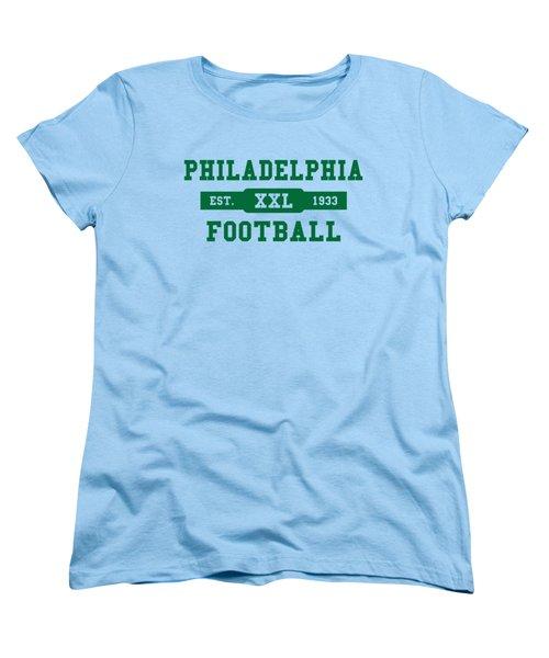 Eagles Retro Shirt Women's T-Shirt (Standard Cut) by Joe Hamilton