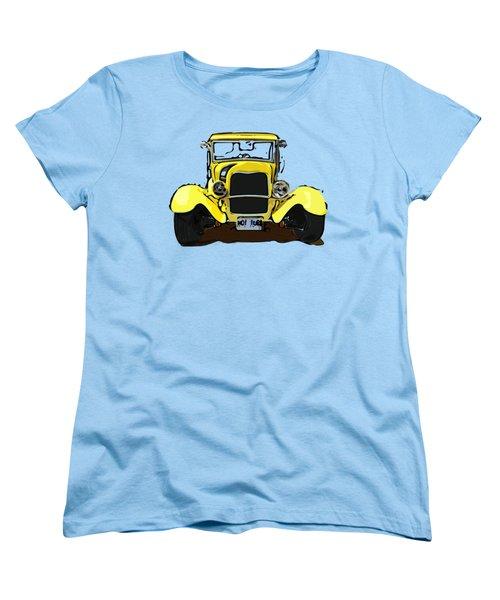 Early 1930s Ford Yellow Women's T-Shirt (Standard Cut)