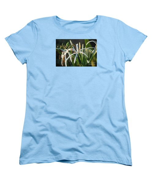 Early Morning Lily Women's T-Shirt (Standard Cut) by LeeAnn Kendall